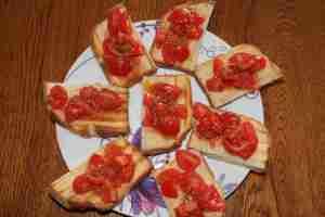 bruschette fresche