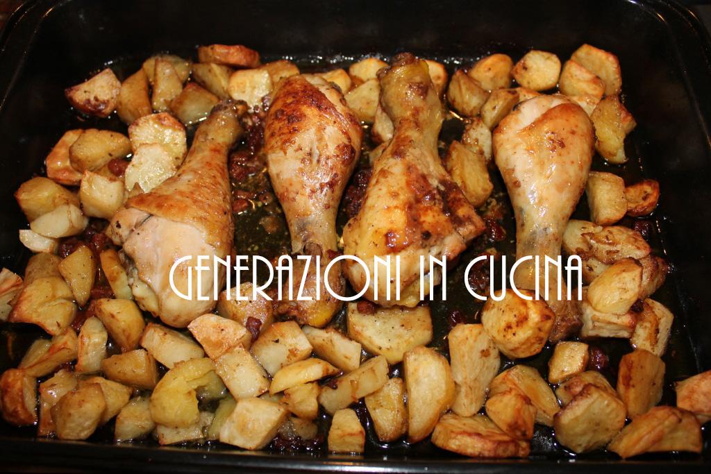 Fusi Di Pollo Al Forno Generazioni In Cucina
