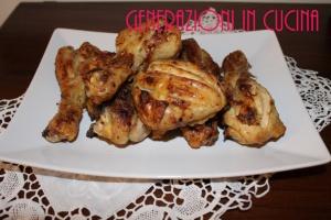 Fusi di pollo alla griglia