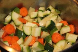 vellutata carote e zucchine 1