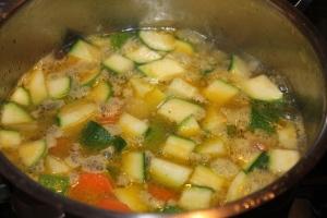 vellutata carote e zucchine 2