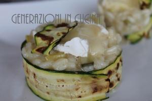 risotto zucchine e brie