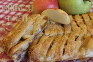 treccia di sfoglia alle mele imm