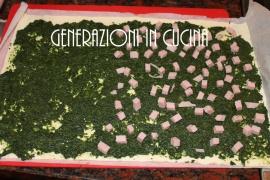 Girelle di Sfoglia Spinaci e Prosciutto 2