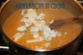 risotto zucca e gorgonzola 6