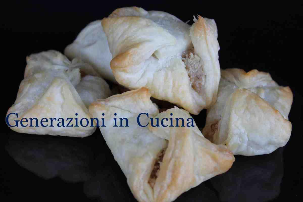 Minisaccottini Gorgonzola e Noci